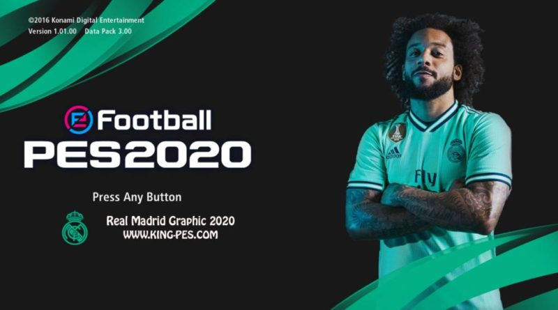 PES 2017 | REAL MADRID PES 2020 GRAPHIC MENU | SPECIAL EDITION | DOWNLOAD & INSTALL