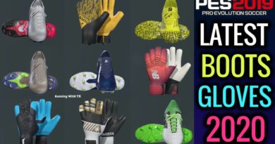 PES 2019 | LATEST BOOTS & GLOVES 2020 | ALL IN ONE | DOWNLOAD & INSTALL
