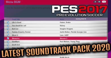 PES 2017 | LATEST SOUNDTRACK PACK 2020 | DOWNLOAD & INSTALL