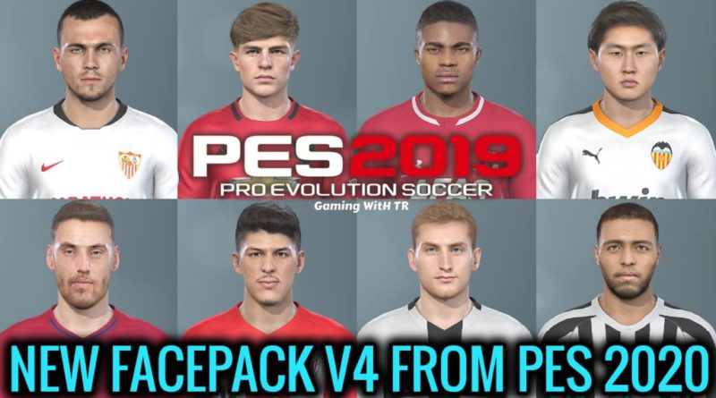 PES 2019 | NEW EXCLUSIVE FACEPACK V4 FROM PES 2020 | DOWNLOAD & INSTALL