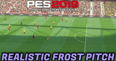 PES 2019 | REALISTIC TURF FROST PITCH | DOWNLOAD & INSTALL