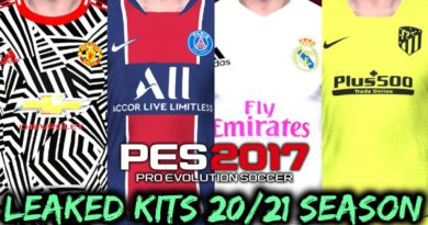 PES 2017 | LEAKED KITS 2020/2021 SEASON | DOWNLOAD & INSTALL
