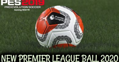 PES 2019 | NEW PREMIER LEAGUE BALL 2020 | TUNNEL VISION | DOWNLOAD & INSTALL