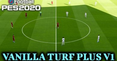 PES 2020 | VANILLA TURF PLUS V1 | DOWNLOAD & INSTALL