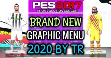 PES 2017 | BRAND NEW GRAPHIC MENU PACK 2020 BY TR | DOWNLOAD & INSTALL