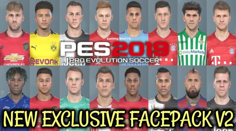 PES 2019 | NEW EXCLUSIVE FACEPACK V2 | DOWNLOAD & INSTALL