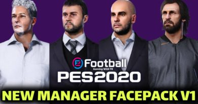 PES 2020 | NEW MANAGER FACEPACK V1 | DOWNLOAD & INSTALL