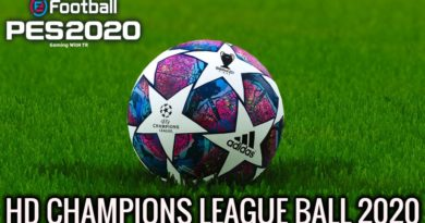PES 2020 | FULL HD CHAMPIONS LEAGUE BALL 2020 | DOWNLOAD & INSTALL
