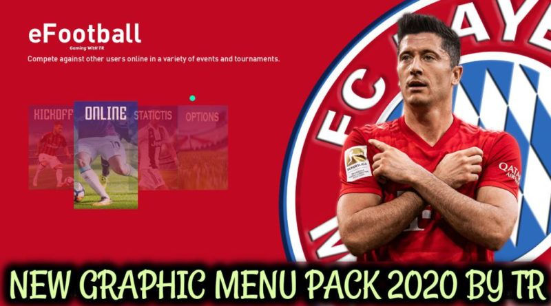 PES 2020 | NEW GRAPHIC MENU PACK 2020 BY TR | DOWNLOAD & INSTALL