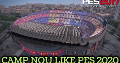 PES 2017 | CAMP NOU LIKE PES 2020 WITH EXTERIOR VIEW | CPK VERSION | DOWNLOAD & INSTALL