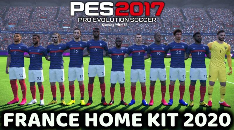 PES 2017 | FRANCE HOME KIT 2020 | DOWNLOAD & INSTALL