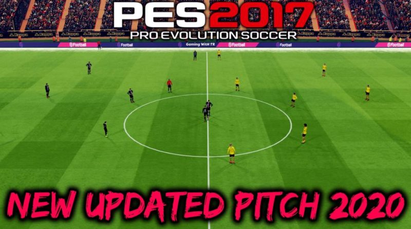 PES 2017 | NEW UPDATED PITCH 2020 | DOWNLOAD & INSTALL