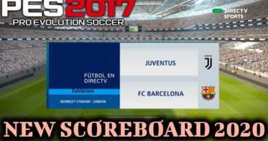 PES 2017 | NEW SCOREBOARD 2020 | DIRECTV SPORTS | DOWNLOAD & INSTALL