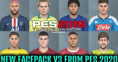 PES 2019 | NEW EXCLUSIVE FACEPACK V3 FROM PES 2020 | DOWNLOAD & INSTALL