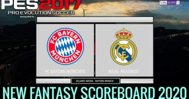 PES 2017 | NEW FANTASY SCOREBOARD 2020 | DOWNLOAD & INSTALL