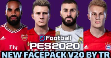 PES 2020 | NEW FACEPACK V20 BY TR | DOWNLOAD & INSTALL