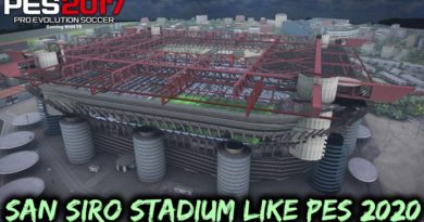 PES 2017 | NEW SAN SIRO STADIUM LIKE PES 2020 | WITH NEW EXTERIOR 2020 | DOWNLOAD & INSTALL
