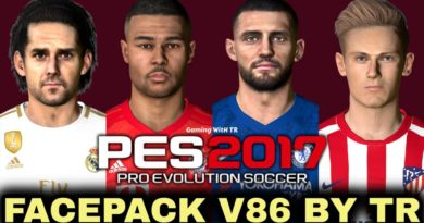PES 2017 | FACEPACK V86 BY TR | DOWNLOAD & INSTALL