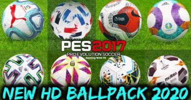 PES 2017 | NEW HD BALLPACK 2020 | ALL IN ONE | DOWNLOAD & INSTALL