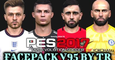 PES 2017 | FACEPACK V95 BY TR | DOWNLOAD & INSTALL