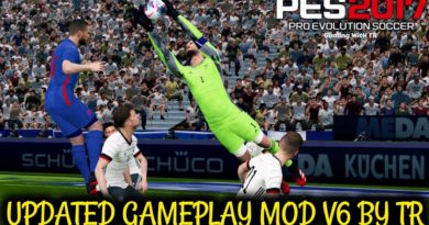 PES 2017 | NEW UPDATED GAMEPLAY MOD V6 BY TR | DOWNLOAD & INSTALL