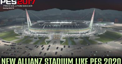 PES 2017 | NEW ALLIANZ STADIUM LIKE PES 2020 | WITH NEW EXTERIOR 2020 | DOWNLOAD & INSTALL