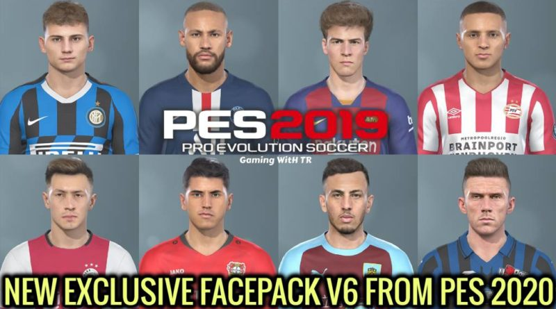 PES 2019 | NEW EXCLUSIVE FACEPACK V6 FROM PES 2020 | DOWNLOAD & INSTALL