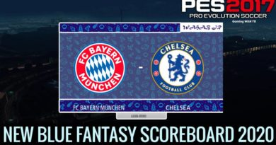 PES 2017 | NEW BLUE FANTASY SCOREBOARD 2020 | DOWNLOAD & INSTALL