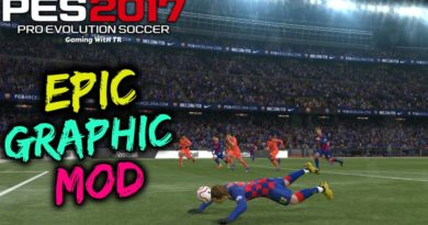 PES 2017 | EPIC GRAPHIC MOD WITH NEW PITCH 2020 | DOWNLOAD & INSTALL