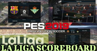 PES 2019 | LA LIGA SCOREBOARD | CPK VERSION | DOWNLOAD & INSTALL