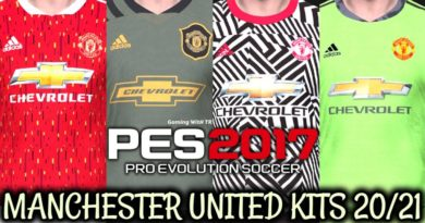 PES 2017   MANCHESTER UNITED KITS 2020/2021   UNOFFICIAL VERSION   DOWNLOAD & INSTALL
