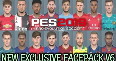 PES 2019 | NEW EXCLUSIVE FACEPACK V6 | DOWNLOAD & INSTALL