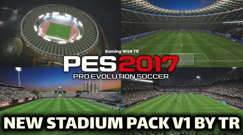 PES 2017 | NEW STADIUM PACK V1 BY TR | STADIUM SERVER 2020 | DOWNLOAD & INSTALL