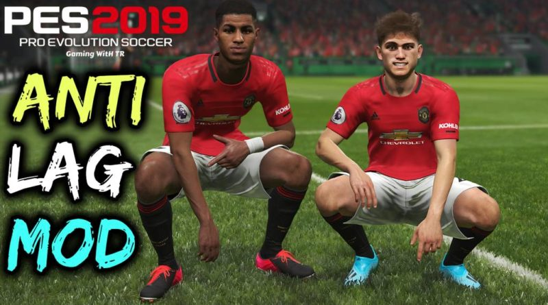 PES 2019 | NEW ANTILAG MOD | DOWNLOAD & INSTALL