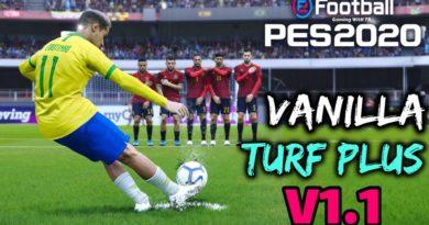 PES 2020 | VANILLA TURF PLUS V1.1 | ALL IN ONE | DOWNLOAD & INSTALL