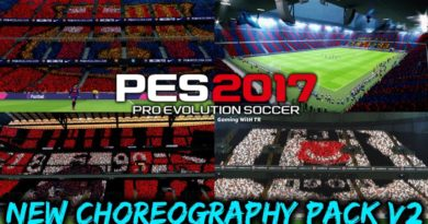 PES 2017 | NEW CHOREOGRAPHY PACK V2 | NEW ATMOSPHERE | DOWNLOAD & INSTALL