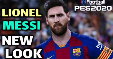 PES 2020 | LIONEL MESSI | NEW FACE & NEW HAIRSTYLE | DOWNLOAD & INSTALL
