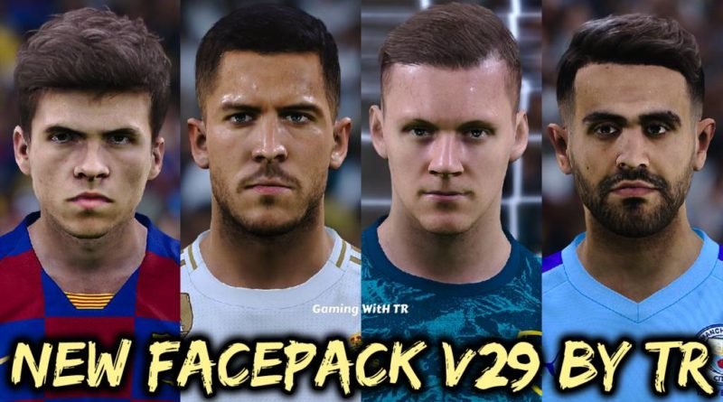 PES 2020 | NEW FACEPACK V29 BY TR | DOWNLOAD & INSTALL