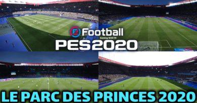 PES 2020 | LE PARC DES PRINCES 2020 | PSG HOME GROUND | CPK VERSION | DOWNLOAD & INSTALL