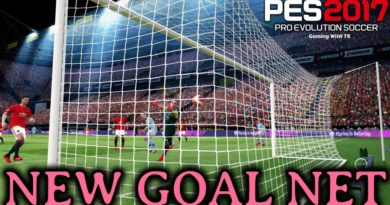 PES 2017 | NEW GOAL NET | DOWNLOAD & INSTALL