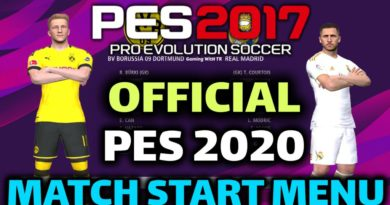 PES 2017 | OFFICIAL PES 2020 MATCH START MENU | DOWNLOAD & INSTALL