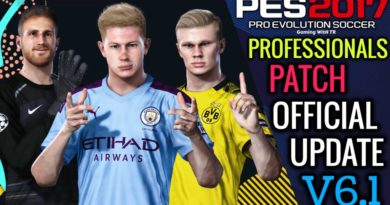 PES 2017 | OFFICIAL PROFESSIONALS PATCH UPDATE V6.1 | DOWNLOAD & INSTALL