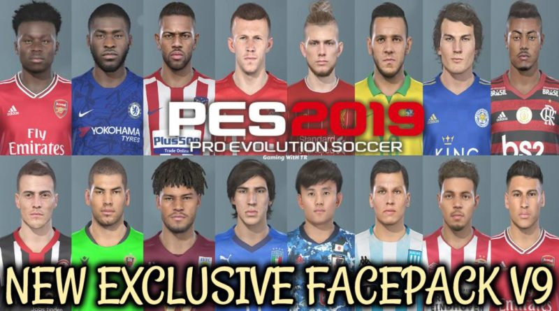 PES 2019 | NEW EXCLUSIVE FACEPACK V9 | DOWNLOAD & INSTALL