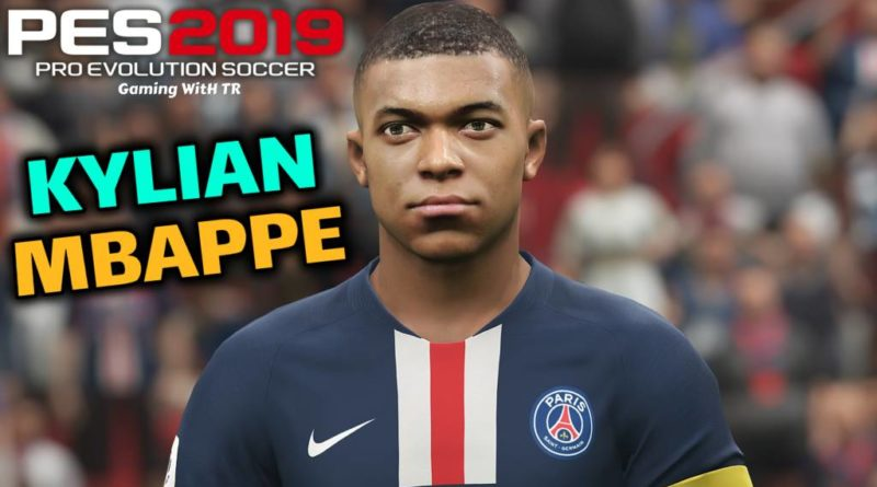 PES 2019 | KYLIAN MBAPPE | NEW FACE & NEW HAIR | DOWNLOAD & INSTALL