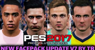 PES 2017 | NEW FACEPACK UPDATE V7 BY TR | DOWNLOAD & INSTALL