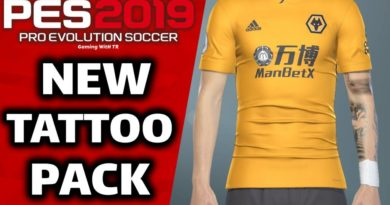 PES 2019 | NEW TATTOO PACK 2020 | DOWNLOAD & INSTALL