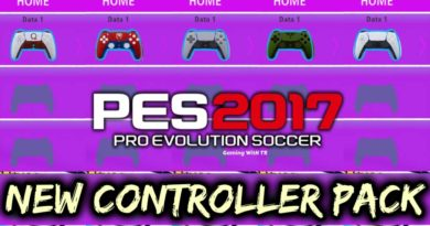 PES 2017 | NEW CONTROLLER PACK | PS5 JOYSTICK | DOWNLOAD & INSTALL