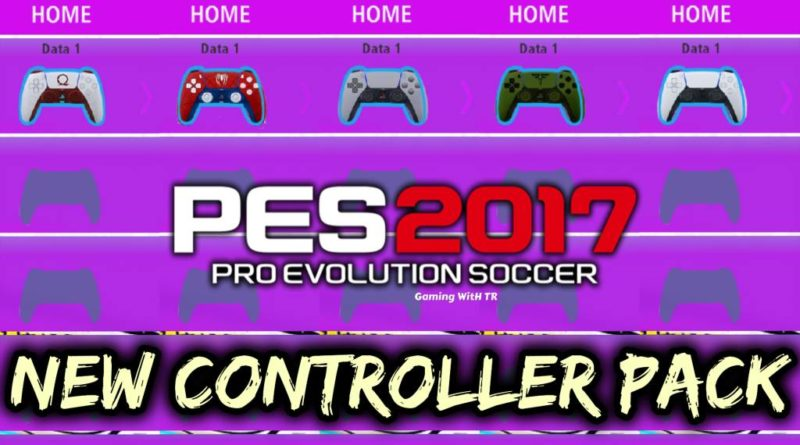 PES 2017   NEW CONTROLLER PACK   PS5 JOYSTICK   DOWNLOAD & INSTALL