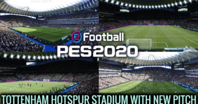 PES 2020 | NEW TOTTENHAM HOTSPUR STADIUM WITH NEW PITCH | DOWNLOAD & INSTALL