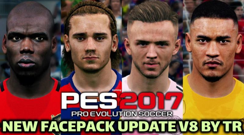 PES 2017 | NEW FACEPACK UPDATE V8 BY TR | DOWNLOAD & INSTALL
